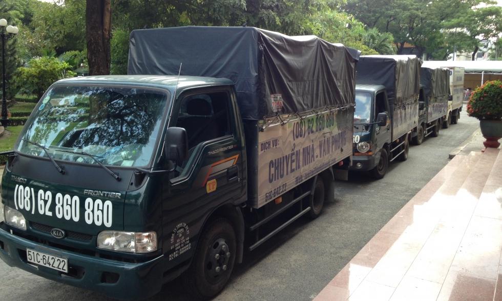 Xe taxi tải Dịch vụ chuyển nhà Sinh Viên giá rẻ TPHCM