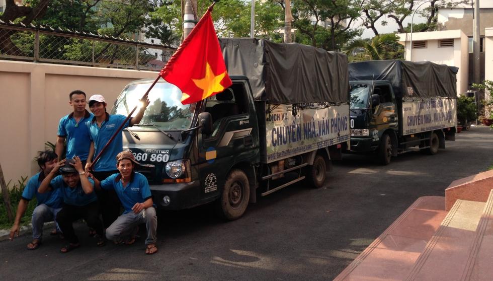 Nhân viên Dịch vụ chuyển nhà Sinh Viên giá rẻ TPHCM
