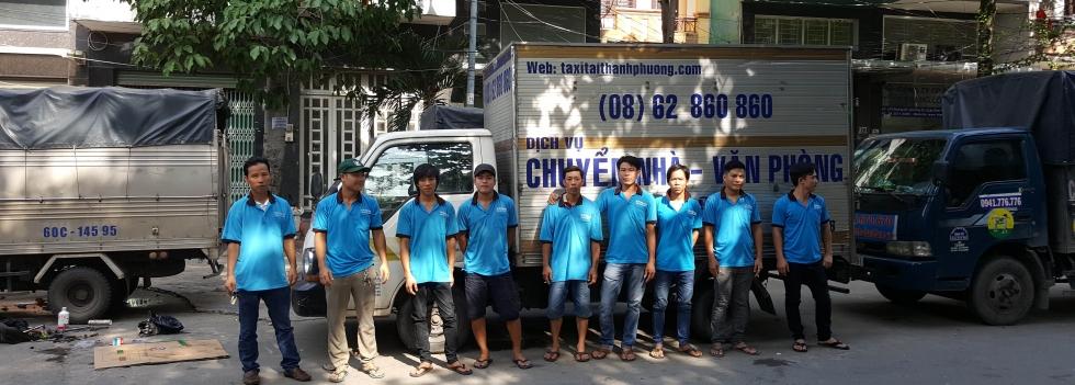 Dịch vụ chuyển nhà Thành Phố Hồ Chí Minh chuyên nghiệp