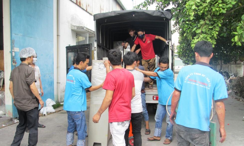 Dịch vụ thuê xe tải chở hàng TPHCM giá rẻ tại Thành Phương