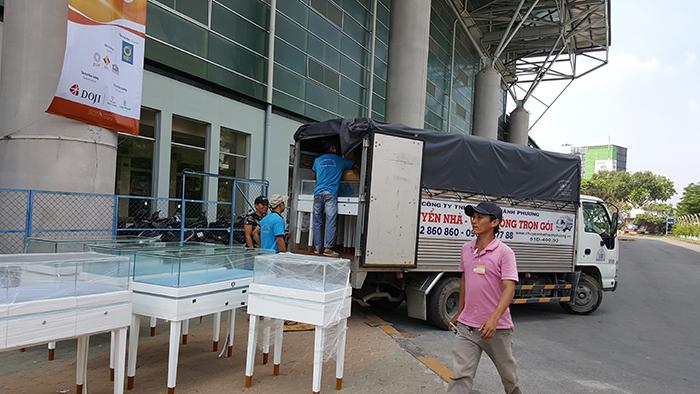 Dịch vụ taxi tải giá rẻ tại TPHCM - Chuyển nhà Thành Phương