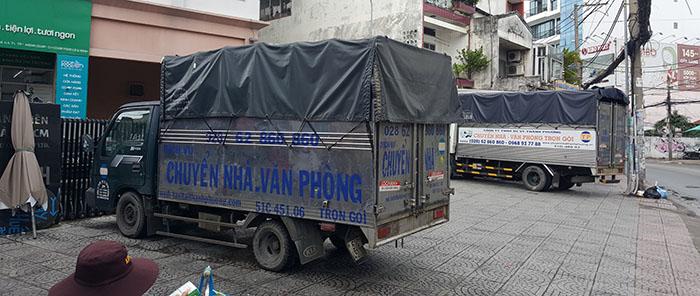 Dịch vụ thuê xe tải quận 1 trọn gói tại công ty chuyển nhà Thành Phương cung cấp