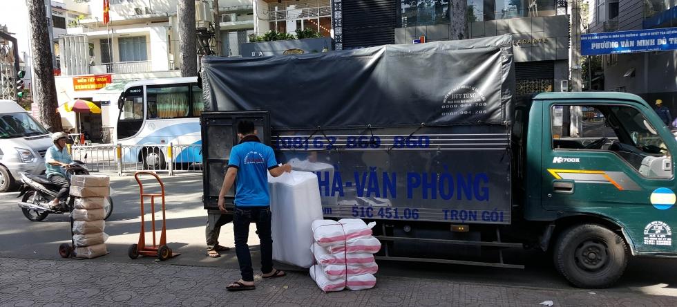 Dịch vụ taxi tải chuyển nhà trọn gói giá rẻ TPHCM tại Thành Phương